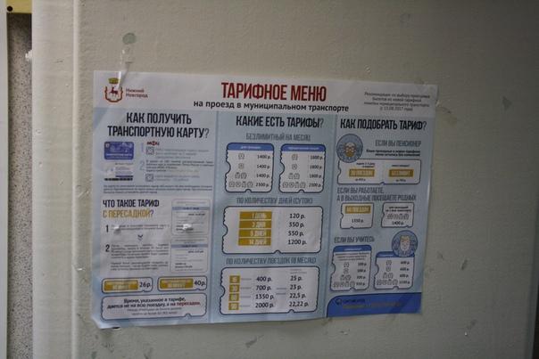 Огромная «инфографика» про транспортную карту Нижнего Новгорода. Однако, она не действует в маршрутках, которых в два раза больше, чем автобусов. Карта совершенно бесполезна, но, видимо, есть приказ сверху «сделать карту Нижегородца, как в Москве». Так и появляется чушь и перегибы.