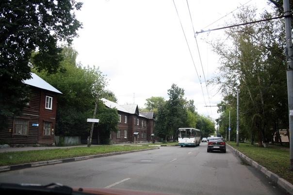 Нижегородские деревянные бараки.