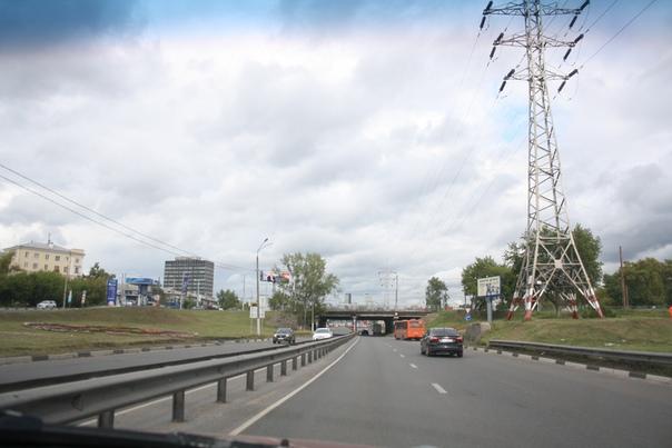 Эстакада под улицей Ленина.