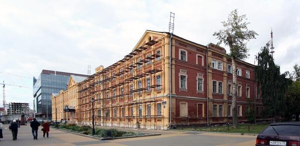Реконструкция фасада общежития НГТУ