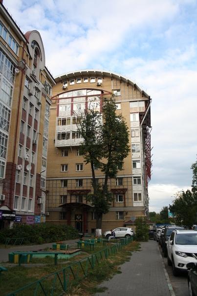 На каждый дом рассчитано пол дерева. Оно и понятно: нужно место под парковку, а тень создают плотно посаженные здания.
