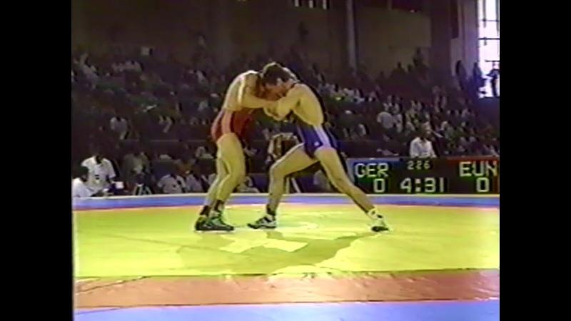 Greco-Roman Wrestling Technique Barcelona Olympics