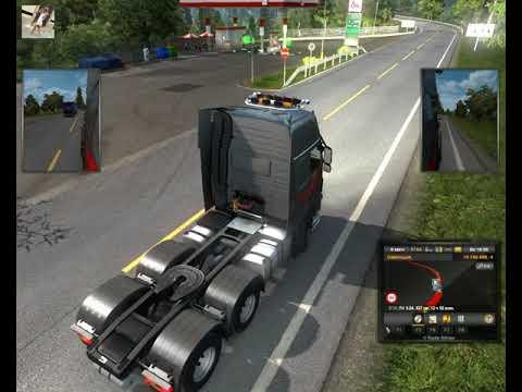 40 - Euro Truck Simulator 2 - Ольга Дальнобоищик - Покупаю гаражи прицепы и рефрежиратори