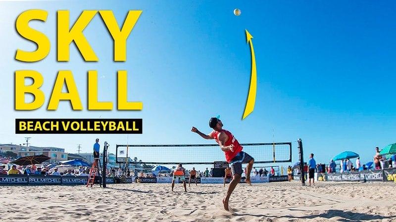 TOP 5 Sky Ball Пляжный Волейбол