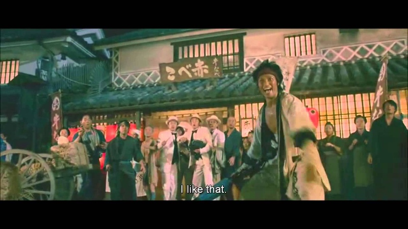 Rurouni Kenshin Movie Epic scenes part 2