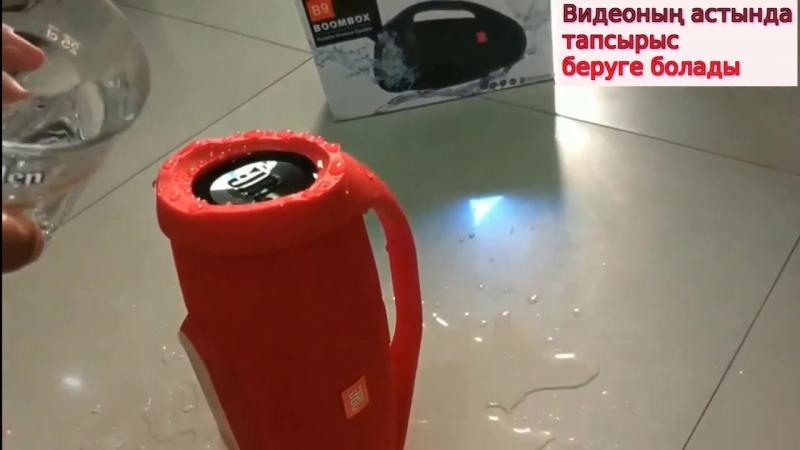 Судың астында дым болмайтын Bluetooth колонка