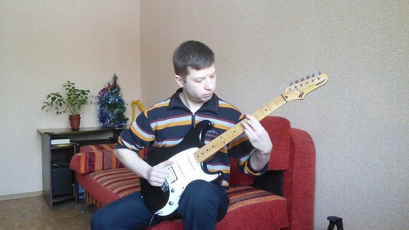 Белый теплоход | White Ship on guitar