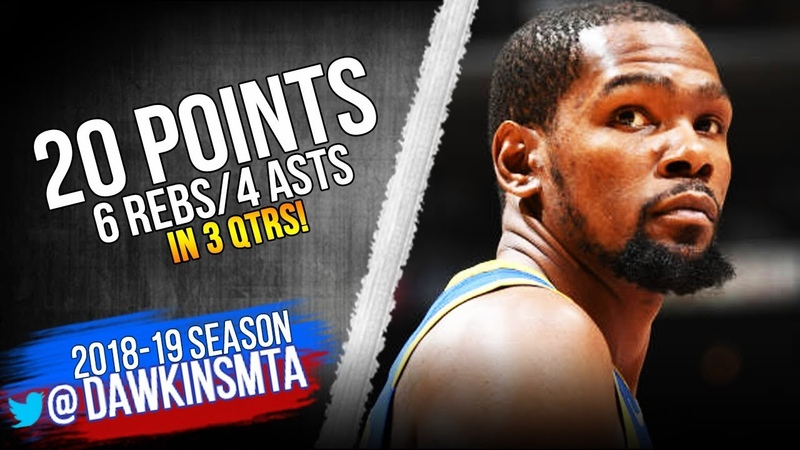 Kevin Durant Full Highlights 2019.01.21 Warriors vs Lakers - 20-6-4! | FreeDawkins