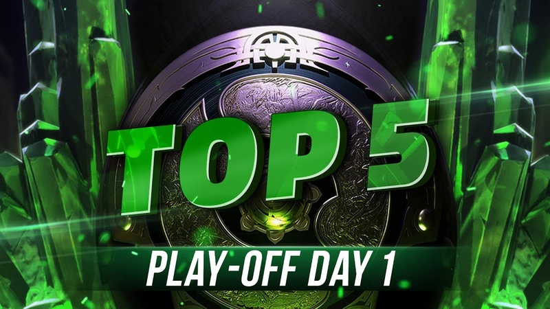 TOP5 Highlights TI8 Play-off - Day 1