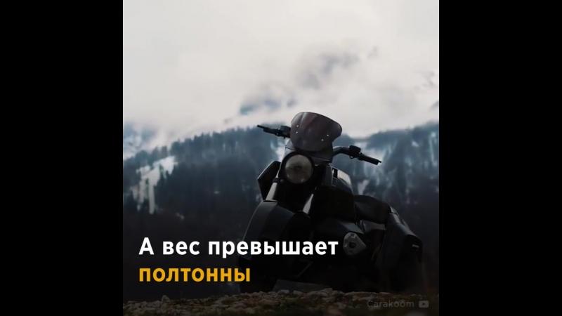 Футуристический мотоцикл «Иж»