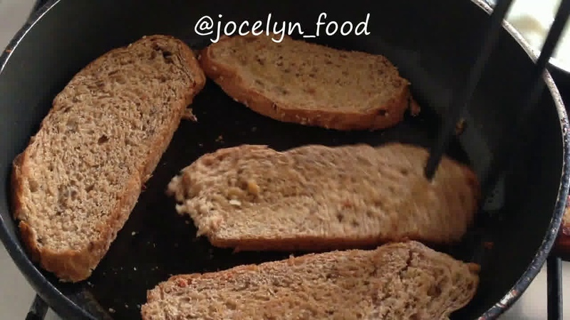 Завтрак • Тосты из зернового хлеба