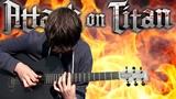 Attack on Titan S2 Opening - Shinzou wo Sasageyo! - Fingerstyle Guitar Cover -
