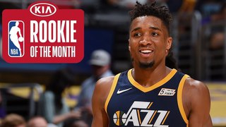 Donovan Mitchell | Rookie Of The Month | March 2018 #NBANews #NBA #Jazz #DonovanMitchell