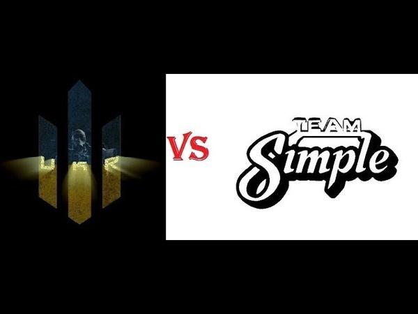 Lucky Strike Tournaments Non pro Полуфинал bo1 UKR vs SimpLe