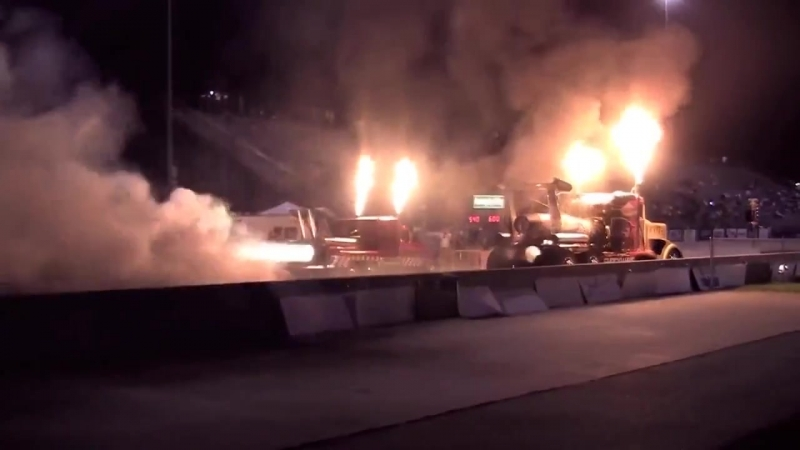 36 000 HP Shockwave Top Fuel Jet Engine Truck