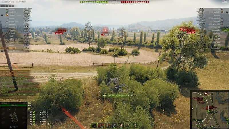 World of Tanks Т-100ЛТ 14000 засвета .Прохоровка2019.01.16 - 00.42.39.03