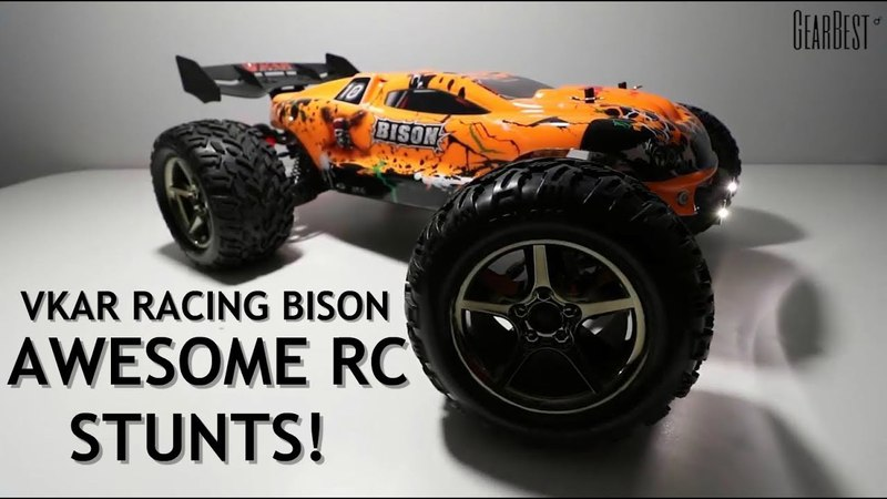 Coolest RC Car Video You Will Watch Today! VKAR Racing Bison - GearBest