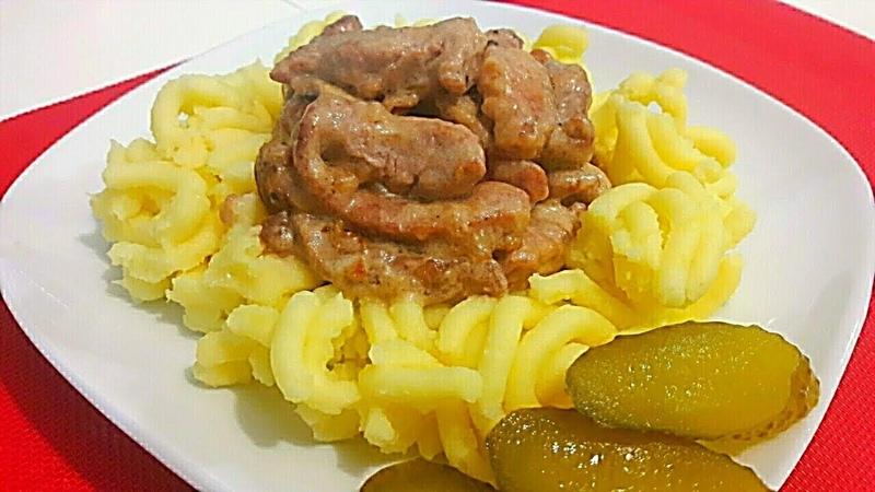 Попробовав Один Раз Полюбите Это Блюдо Навсегда Вкуснейший Бефстроганов из Свинины с Грибами
