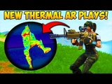 NEW THERMAL AR BEST PLAYS! - Fortnite Funny Fails and WTF Moments! #224 (Daily Moments)