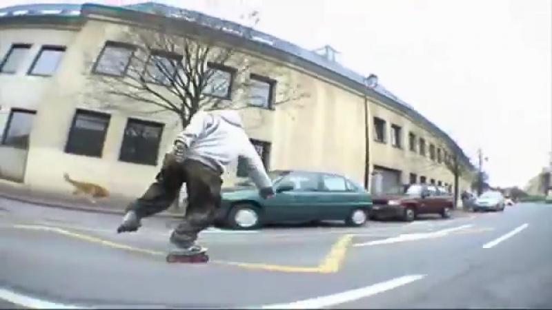 Aggressive Inline Street Skating