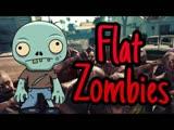Veleon :Flat Zombies Defense Cleanup полный обзор мобильной игры