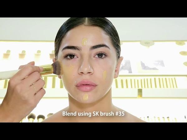 Contour and Highlight using the SAMER KHOUZAMI Cosmetics