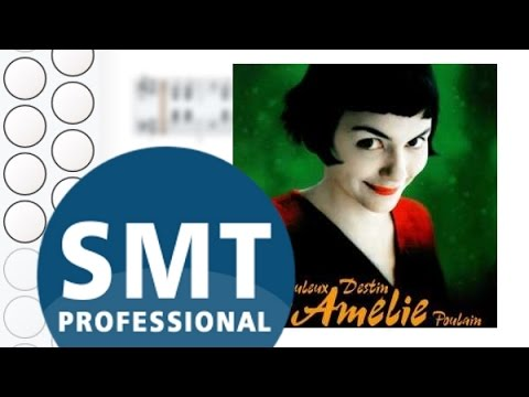Как играть на гармони La valse d'Amelie | How to play on accordion | SMT Pro