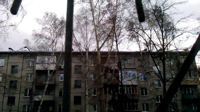 Ураган в Новосибирске 27.04.2015 (часть 2)