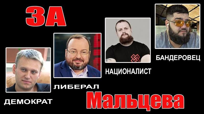 Навальный, Белковский, Дёмушкин, Вольнов - ЗА МАЛЬЦЕВА!