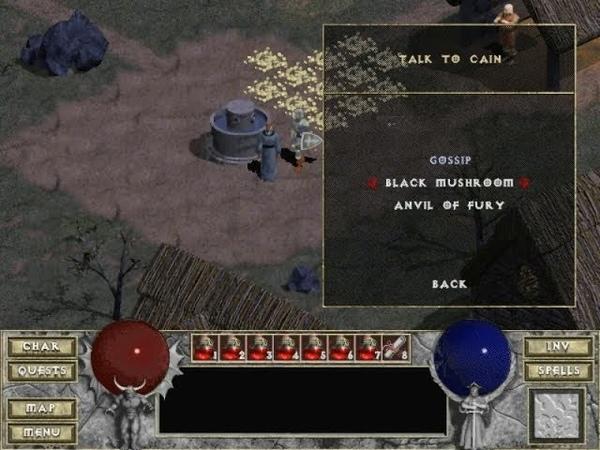 Взгляд в прошлое Выпуск 23 Diablo Чёрные грибы 10