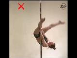 Учим переход из паука с Kat's Pole studio