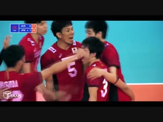 TOP 10 Best Volleyball Actions by HAKU RI  VNL 2018