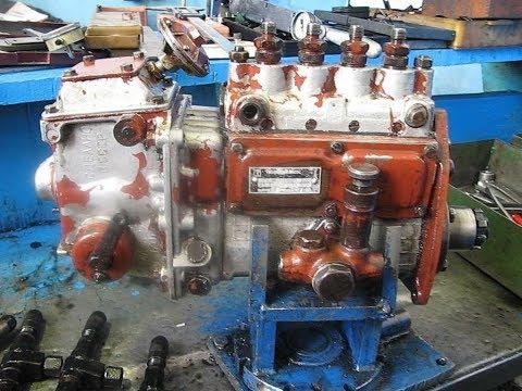ТНВД АТНМ4 с пневмокорректором двигателя Д440 с турбокомпрессором. Ремонт , регулирование.