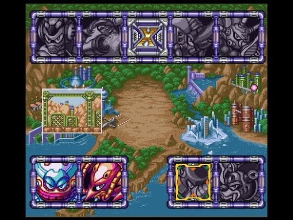 Мега Мен Х3 - Часть 7 - Туннельный Носорог - (Прохождение на SNES)