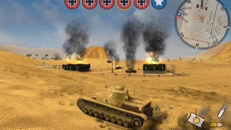 Panzer Elite Action - Dunes of War - Дюны в Огне {HardMode} 29