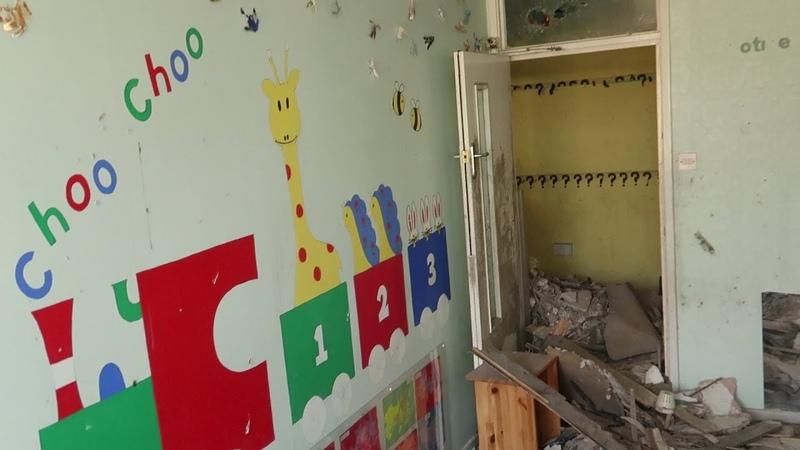 Exploring Abandoned Nursery burnt house
