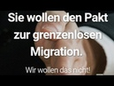 Petition UN Migrationspakt stoppen Nicht in meinem Namen