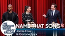 Name That Song Challenge with Jamie Foxx and Corinne Foxx
