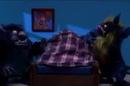 Робоцып одеяло спасает от монстров