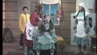 Үгәй ҡыҙ. Бүздәк районы Түреш мәктәбе драма түңәрәге. 1993 йыл.