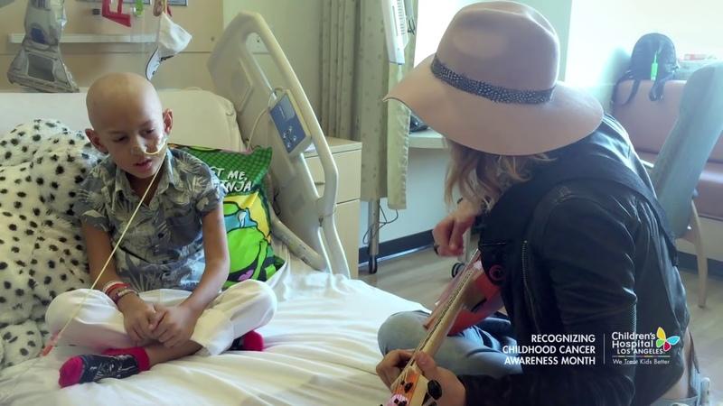 Cancer Patient Jeremiah Sings Fight Song Duet with Rachel Platten - Full Version