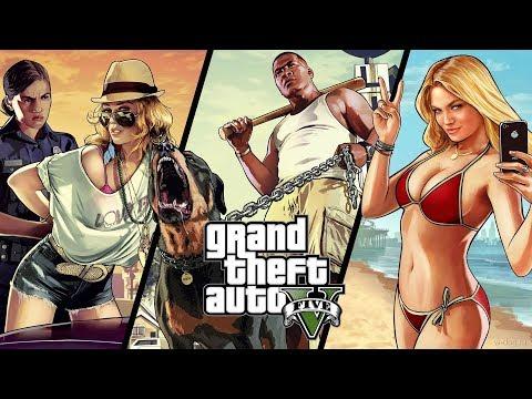 Grand Theft Auto V. Online. Ограбления. Наркоманы на 1час.45 мин