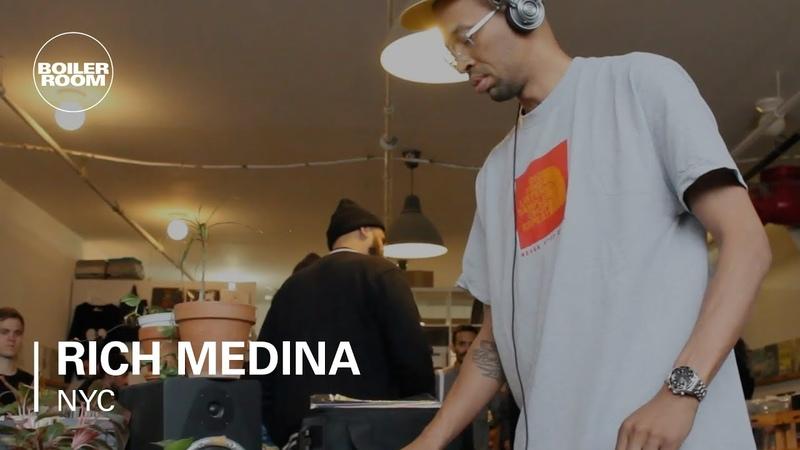 Rich Medina Funk Jazz Mixtape Boiler Room NYC
