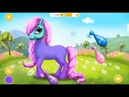 Мои Маленькие Пони Маникюр Спа и Парикмахерская для Пони Модниц Мультик игра для девочек