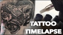 TATTOO TIME LAPSE HUGE 2 DAY BACK PIECE CHRISSY LEE