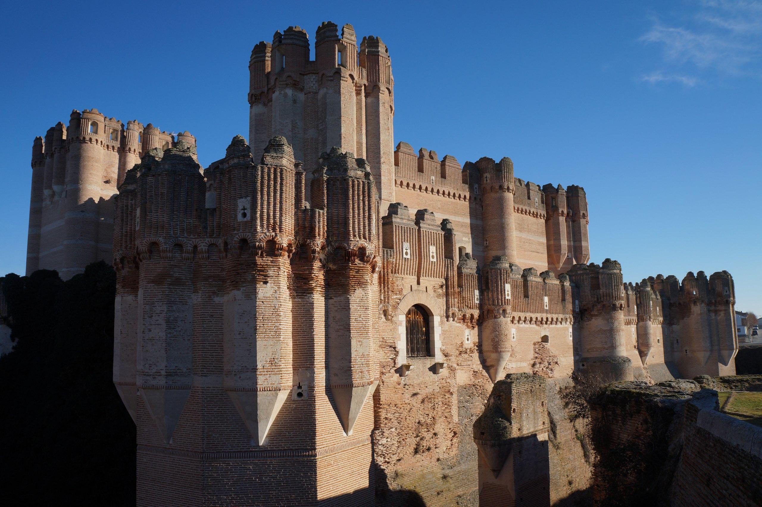 Кока - самый мощный замок в Испании