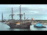 GALLEON ANDALUCIA's arrival into Port Canaveral on 4302013