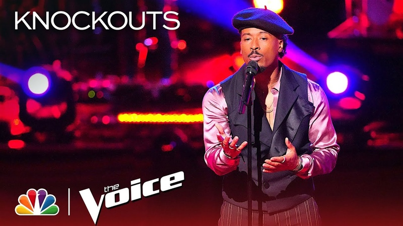 Franc West Brings His Unique Sound to The Weeknd's Call Out My Name The Voice 2018 Knockouts