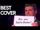 JUSTIN BIEBER'S SONGS ON THE VOICE , GOT TALENT THE X FACTOR | MIND BLOWING