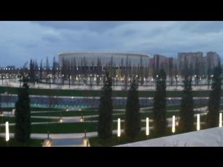 park of the Galician stadium Krasnodar